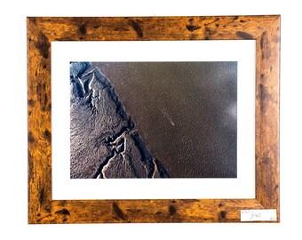 Aerial Original Drone Photograph of Morecambe Bay