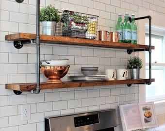 High Quality Kitchen Shelves | Etsy