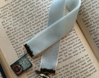 Snow White Velvet Bookmark