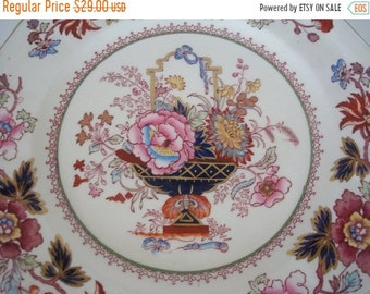 ON SALE NOW Gorgeous Old Mason's Brocade Dinner Plate