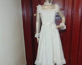 Vintage Short Wedding Dress