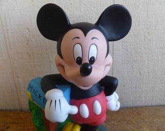 Disney Collectable Vinyl Mickey Mouse Bank
