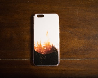 Sunshine and Trees Iphone Case