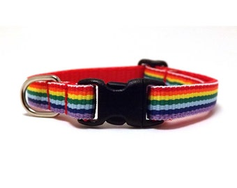 The Rainbow | Cat Collar with Bell