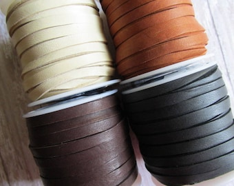 5mm FULL SPOOL Deerskin Lace, Deerskin, Deer Skin, Lace, Leather Lace, Lace, Leather, 5mm lace, 5mm, Spool of Deerskin, Spool of Deer Skin