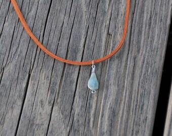 Dominican Larimar Necklace