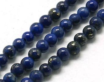2mm Natural Lapis Lazuli Beads Round 2mm Lapis Lazuli 2mm Lapis 2mm Beads Lapis Tiny Lapis 2 mm Lapis Lazuli Mala