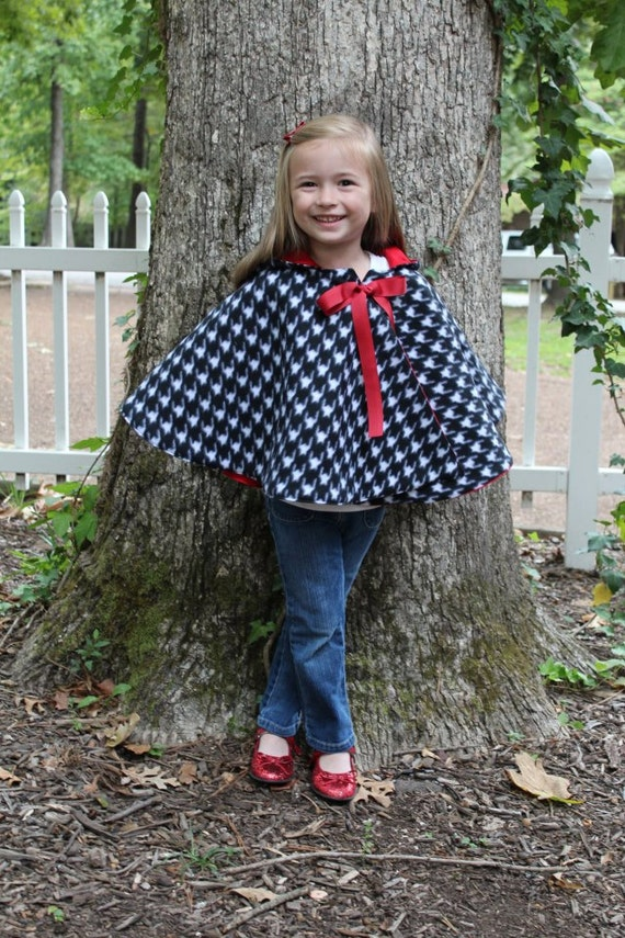 Cozy Hooded Cape pdf sewing pattern cape sewing pattern PDF