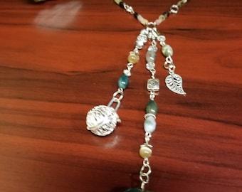 "Gemstone Rear View Mirror Charm  and Diffuser - Car Ornament~ ""Clear Heart CarGem ""Diffuser"