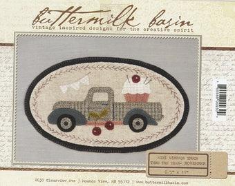 SALE!! Mini Vintage Truck Pattern by Buttermilk Basin