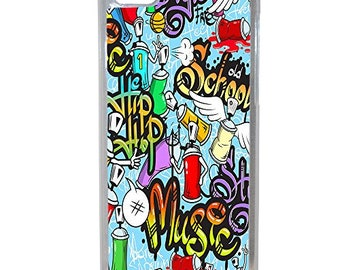 Hard Case Design Tags Graffiti For Apple Iphone 5c