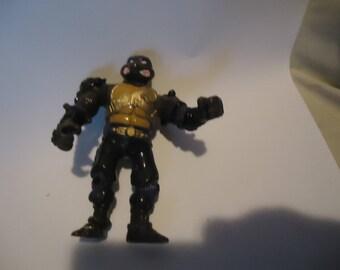 Vintage 1995 Teenage Mutant Ninja Turtles TMNT Metal Mutants Donatello Action Figure by Mirage Studios, Playmate, collectable