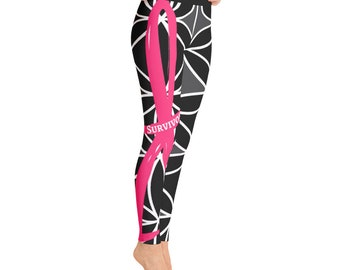 Stunning Striking Strong Survivor Yoga Leggings