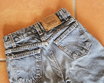 Dark Wash Levis 550s Kids Size 10