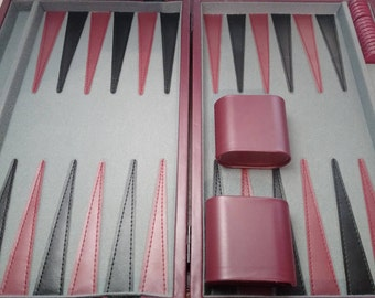 Backgammon Game vintage suitcase