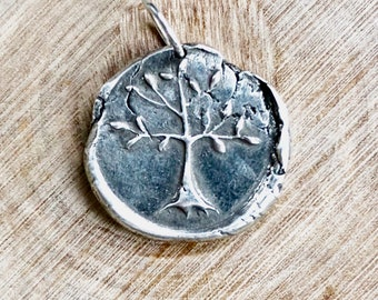 OUTLANDER Tree Of Life Pendant / Crann Bethadh / Celtic Tree of Life Jewelry
