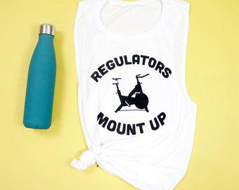 Regulators Mount Up Spin Cycle Tank Top