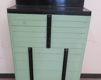 Perfect Art Deco Mid Century Vintage Dental/Medical Industrial Cabinet By The  American Cabinet Co