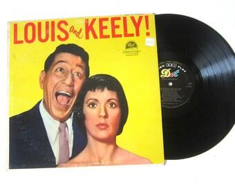 Louis and Keely Vinyl Record Album 12 Inch LP Vintage Music DOT Record Album