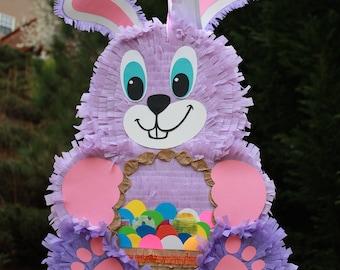 Purple Bunny Pinata