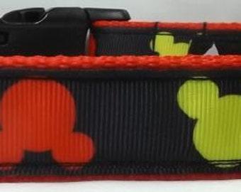 Mickey Mouse Dog Collar - Dog Collar FREE Shipping