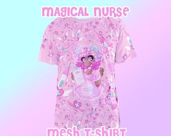 Magical Nurse Mesh T-shirt