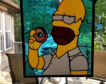 Homer Simpson Loves His Donuts