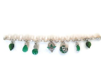 Chinatown Jade Charm Bracelet