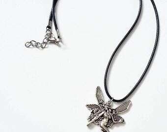 Fairy pendant necklace