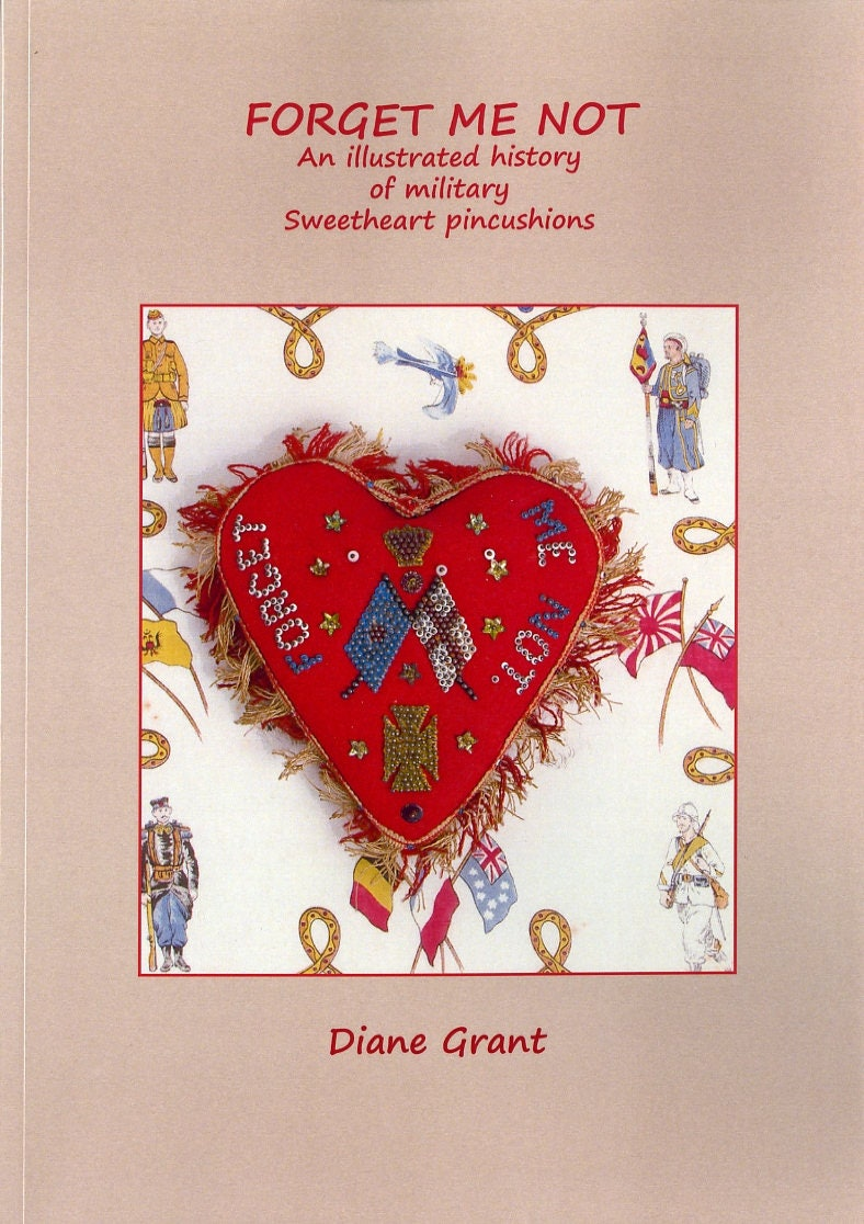 SWEETHEART PINCUSHION BOOK Forget me Not An illustrated