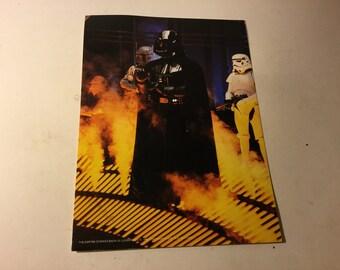Vintage Star Wars Darth Vader Boba Fett 8x11 Photo Photograph 1980