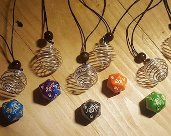 Dice Pendant (with cord)