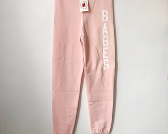 legit babes X russell athletic sweatpants adult size XS deadstock NWT 90s made in USA
