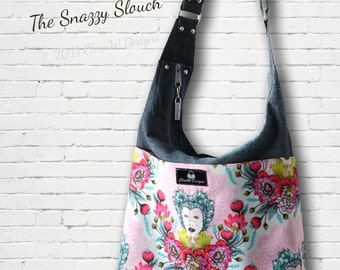 Snazzy Slouch Handbag PDF Sewing Pattern- ChrisW Designs
