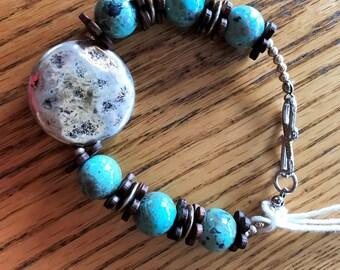 Southwestern beaded bracelet