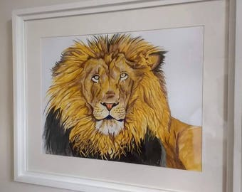 Original custom commissions hand painted in colour by myself, a unique piece of art for your home