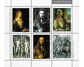Artists' Artistamps - Albert Dürer - Albert Durer - Stickers - Seals