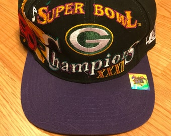 Vintage Green Bay Super Bowl champion snapback