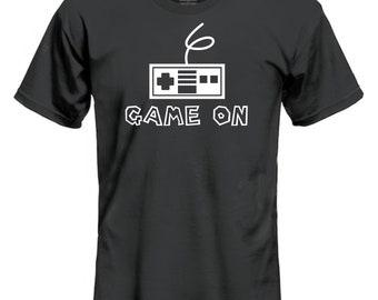 Nintendo Controller SNES Mario Style Shirt