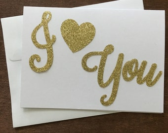 Valentine's Day Card, Say I Love You, Love Card, Perfect Valentine's Day Card