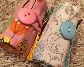 Crayon Rolls (16-pk) with Button Closure / Personalize It! - READY TO SHIP