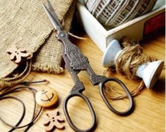 Vintage Scissors Sewing Supplies DIY Manual Yarn Cut Thread Scissors-Church
