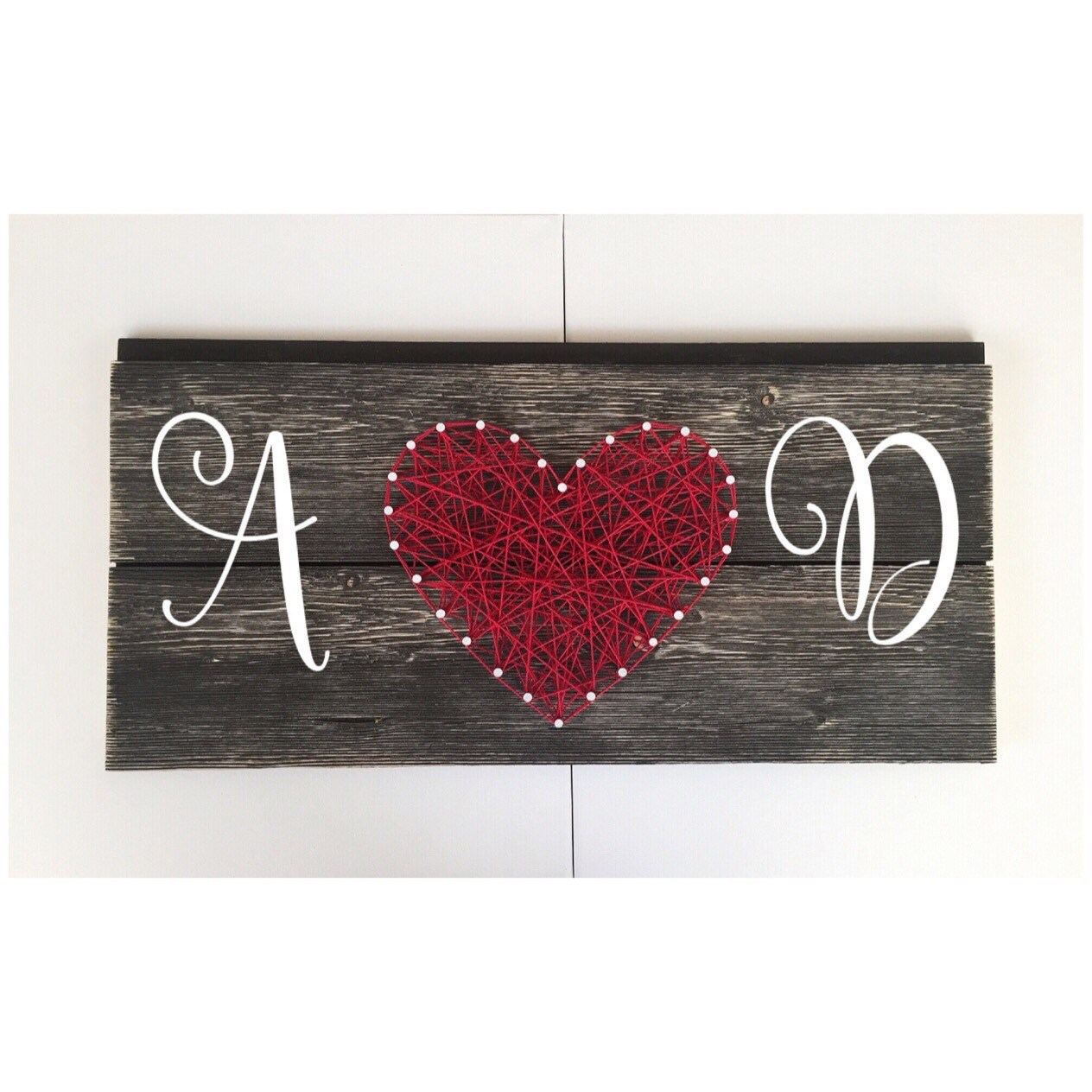 Couples Sign - Monogram Sign - String Art Heart - Wedding Sign - Anniversary Gift - Wall Decor -Wood Sign  sc 1 st  Shop Austla & Couples Sign - Monogram Sign - String Art Heart - Wedding Sign ...