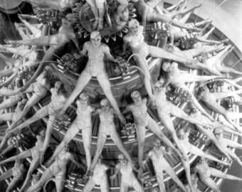 "Production Photo, Busby Berkeley, ""Footlight Parade"" 1933"