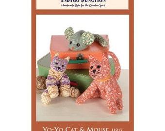 Pattern: Yo-Yo Cat & Mouse