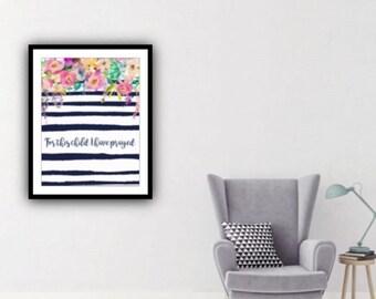 PDF Printable Art - Boho Pastels