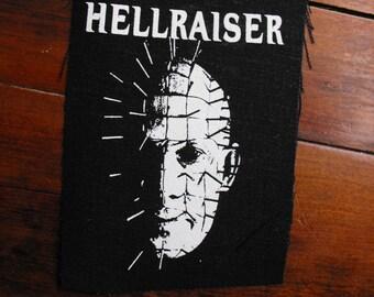 HELLRAISER patch horror movie pinhead Free Shipping