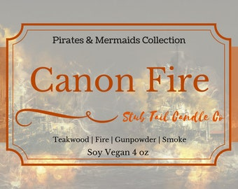 Canon Fire - Scented Soy Candle