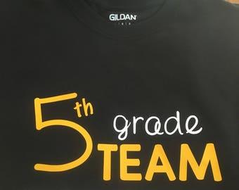Teacher T-shirt - School Team