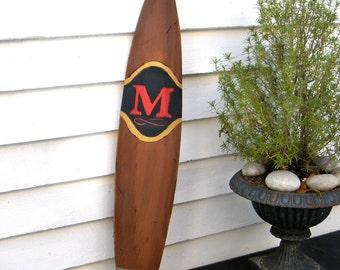 Cigar Sign with Monogram Wooden Wedding Cigar Bar Sign
